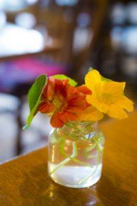 ナスタチュームの花