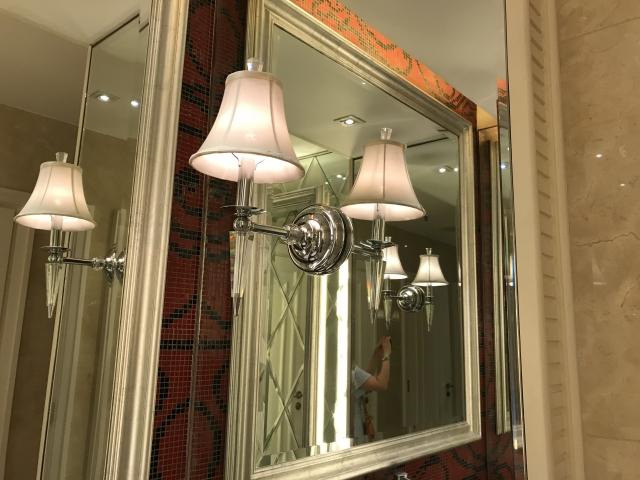 金運アップのポイントは玄関入って左側の鏡